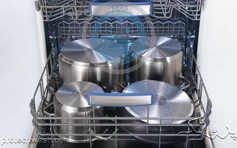 ظرفشویی ۱۳ نفره بوش سیلور مدل ۴۶ni10
